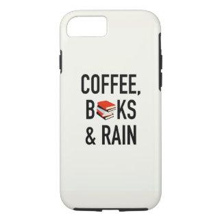 Coffee, Books & Rain iPhone 7 Case