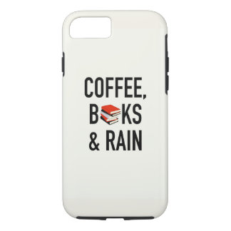 Coffee, Books & Rain iPhone 8/7 Case