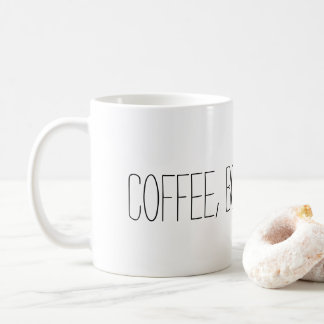 Coffee, Books, & Rain Mug