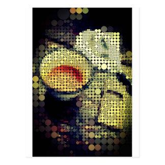 Coffee Break - Cool dots Post Card
