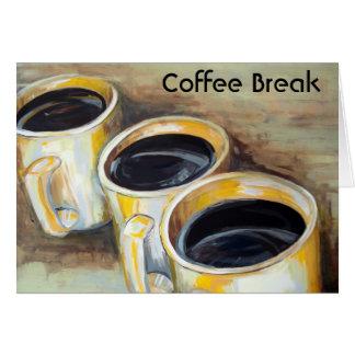 Coffee Break Note Cards
