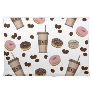 Coffee break pattern placemat