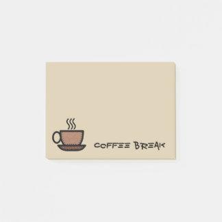 Coffee Break Post-it Notes