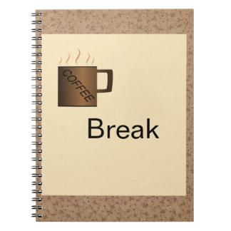 Coffee Break Spiral Notebook
