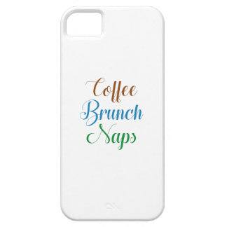 Coffee Brunch Naps Case For The iPhone 5