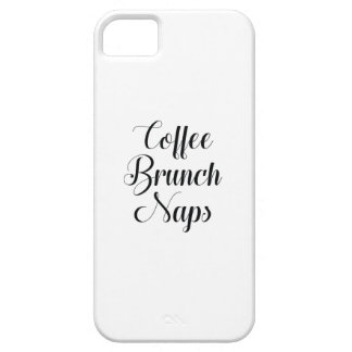 Coffee Brunch Naps iPhone 5 Cover