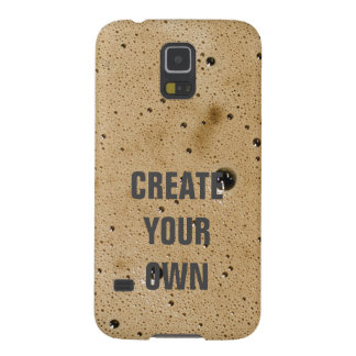 Coffee Bubbles Create Your Own Galaxy S5 Cases