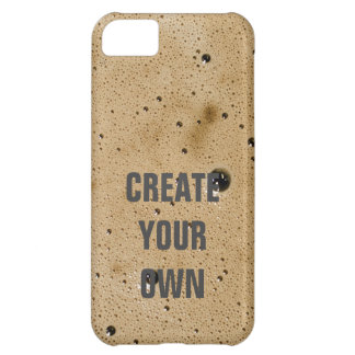 Coffee Bubbles Create Your Own iPhone 5C Case