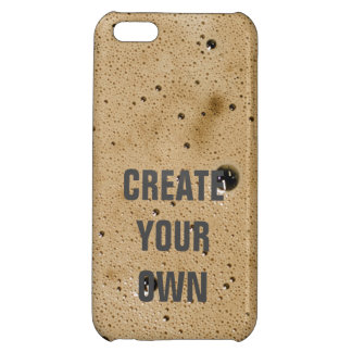 Coffee Bubbles Create Your Own iPhone 5C Covers