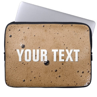 Coffee Bubbles Create Your Own Laptop Sleeve