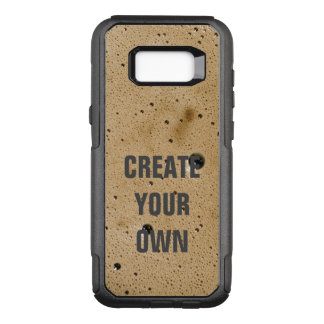 Coffee Bubbles Create Your Own OtterBox Commuter Samsung Galaxy S8+ Case