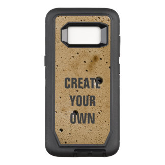 Coffee Bubbles Create Your Own OtterBox Defender Samsung Galaxy S8 Case