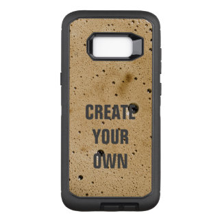 Coffee Bubbles Create Your Own OtterBox Defender Samsung Galaxy S8+ Case