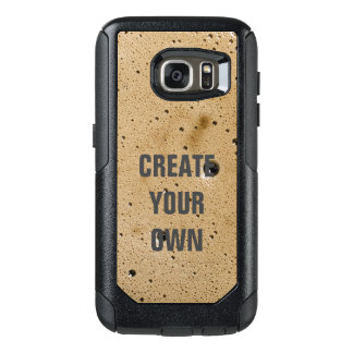 Coffee Bubbles Create Your Own OtterBox Samsung Galaxy S7 Case