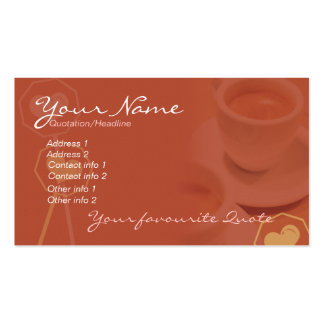 Coffee Business & Personal Card #02 Business Card