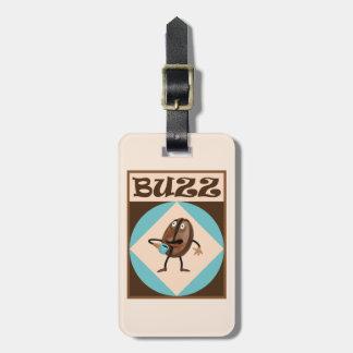 Coffee Buzz Luggage Tag