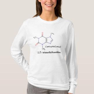 Coffee, C8H10N4O2H2O, 1,3,7- trimethylxanthine T-Shirt