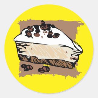 Coffee Cake Round Sticker