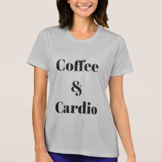 Coffee & Cardio Athletic T-Shirt