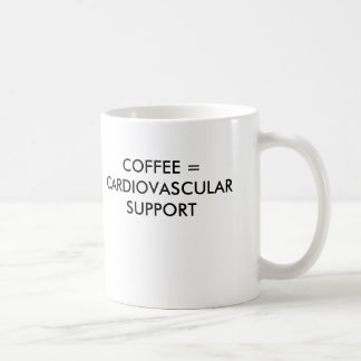 COFFEE = CARDIOVASCULAR SUPPORT COFFEE MUG