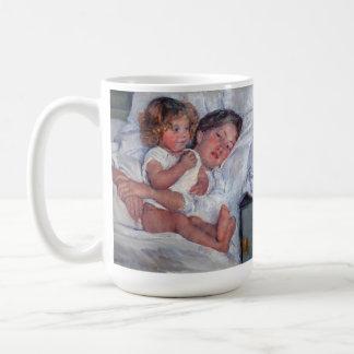 coffee: cassatt breakfast in bed 2 coffee mug