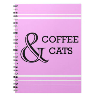Coffee & Cats Notebook
