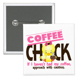 Coffee Chick 1 Buttons