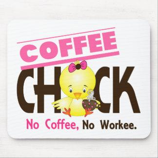 Coffee Chick 2 Mousepads