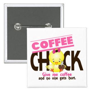 Coffee Chick 4 Pin