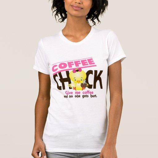 Coffee Chick 4 Tshirts