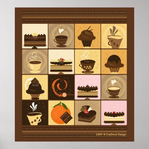 Coffee & Chocolate Canvas Print