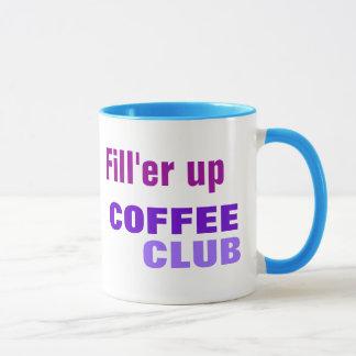 COFFEE CLUB mug