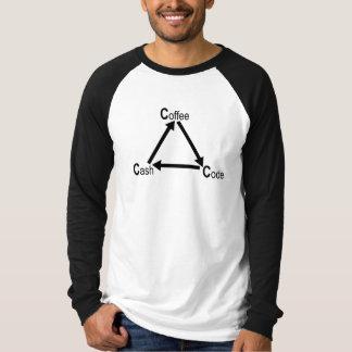 Coffee - code - cash T-Shirt