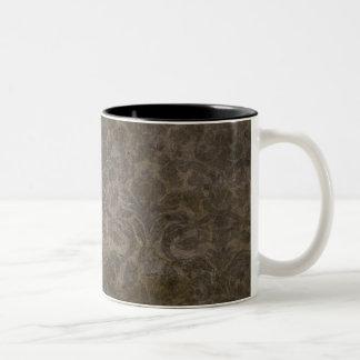 coffee colored pattern grunge coffee mugs
