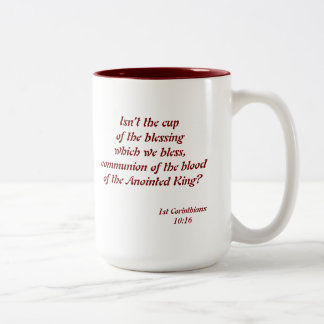 Coffee Communion Two-Tone Coffee Mug