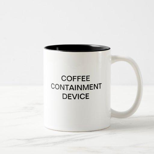COFFEE CONTAINMENT DEVICE COFFEE MUGS