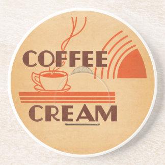 Coffee Cream Retro Dairy Milk Bottle Cap Coaster