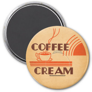 Coffee Cream Retro Dairy Milk Bottle Cap Magnet