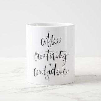 Coffee, Creativity + Confidence Mug
