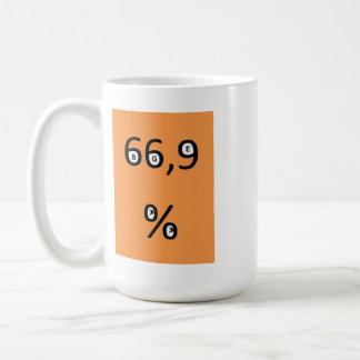 Coffee cup - 66.9% of the pirates for the BGE requ Basic White Mug
