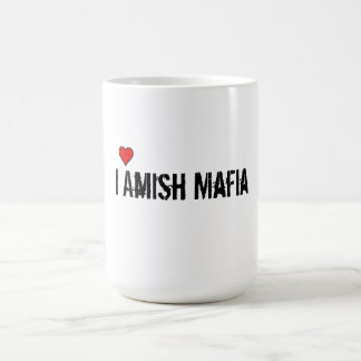 coffee cup amish mafia basic white mug