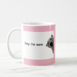 coffee cup bear