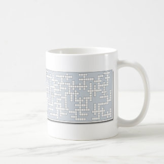 Coffee Cup Crosswords - Vessels #3 Coffee Mug