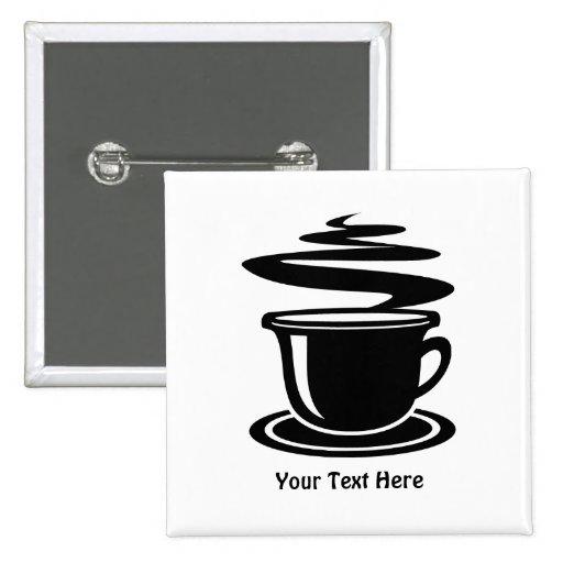 Coffee Cup (customizable) Pin