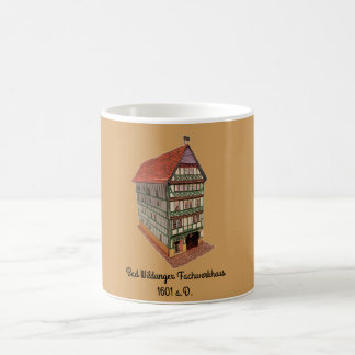 Coffee cup from the bath Wildunger half timbered
