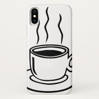 Coffee Cup iPhone X Case