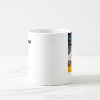 Coffee Cup- Irie Manhattan Beach. barrel Coffee Mug