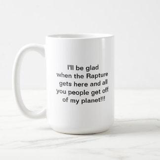Coffee cup quotation basic white mug