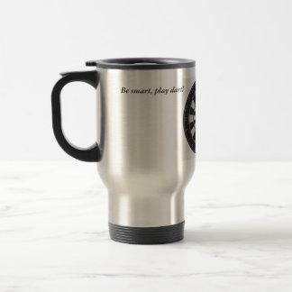 Coffee cup, silver travel mug