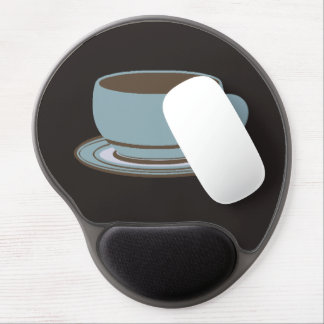 Coffee Cup & Spoon Gel Mouse Pads